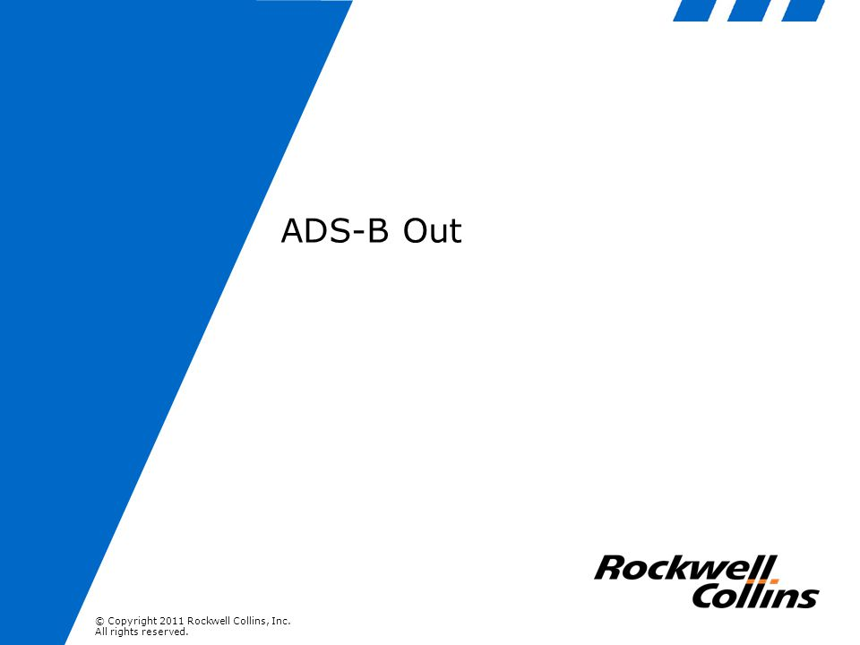 ADS-B Out