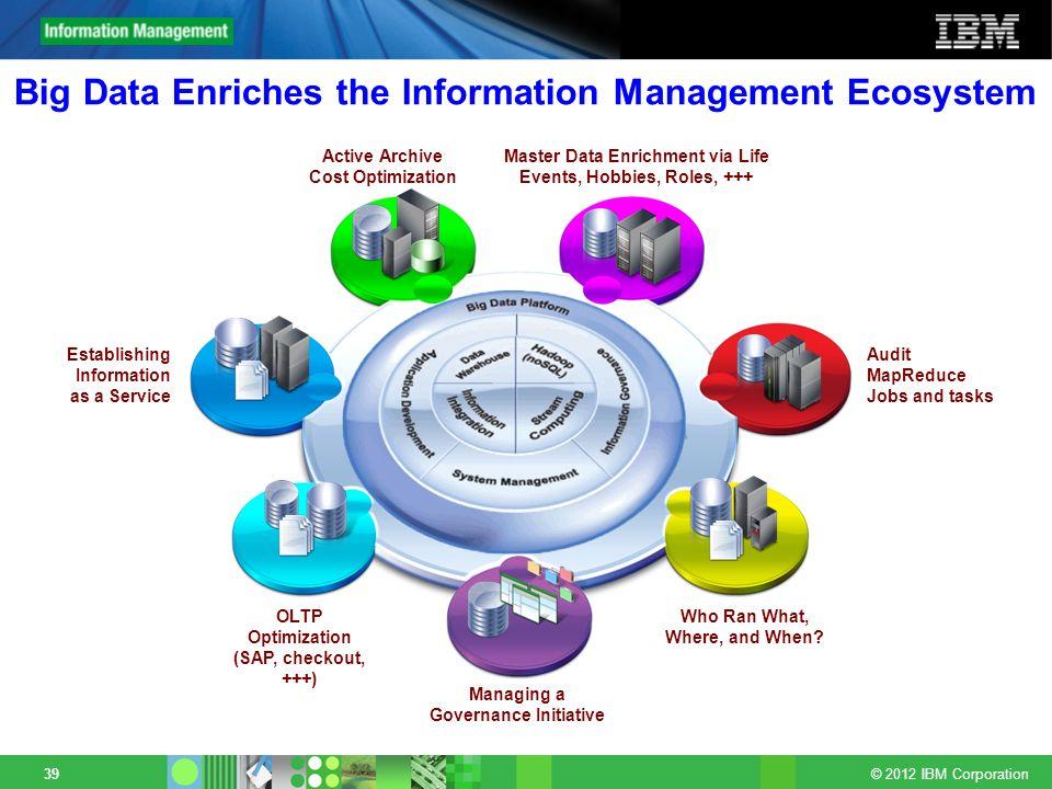 Big Data Enriches the Information Management Ecosystem
