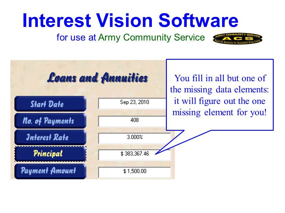 Interest Vision Software