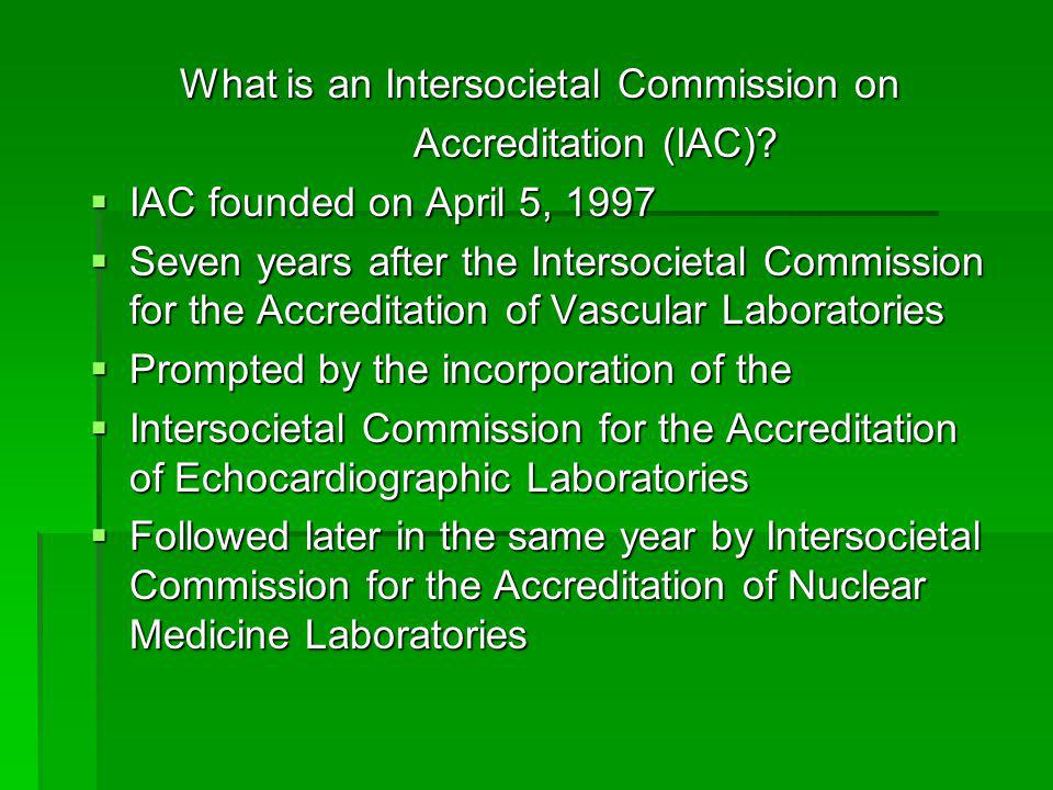 What is an Intersocietal Commission on