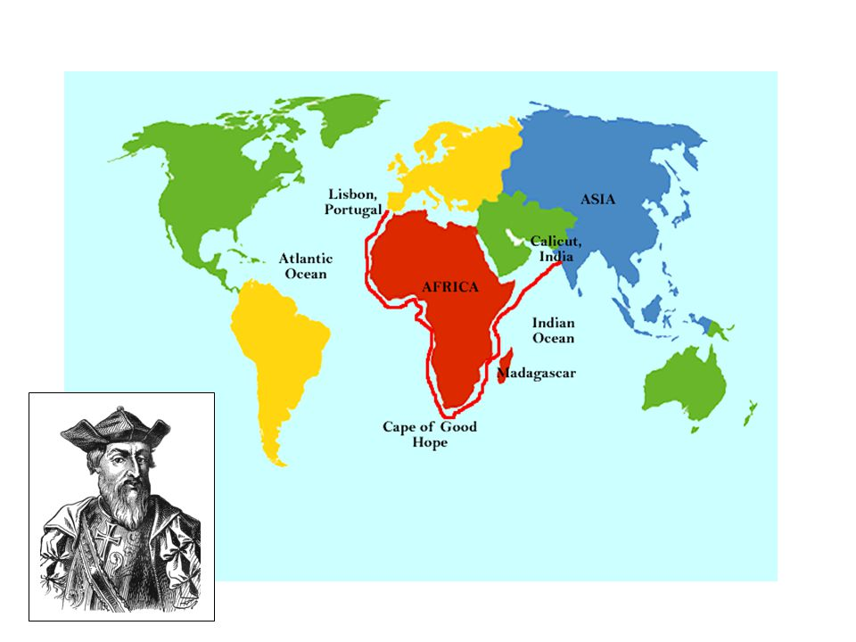 15 - Vasco da Gama made two more voyages to India