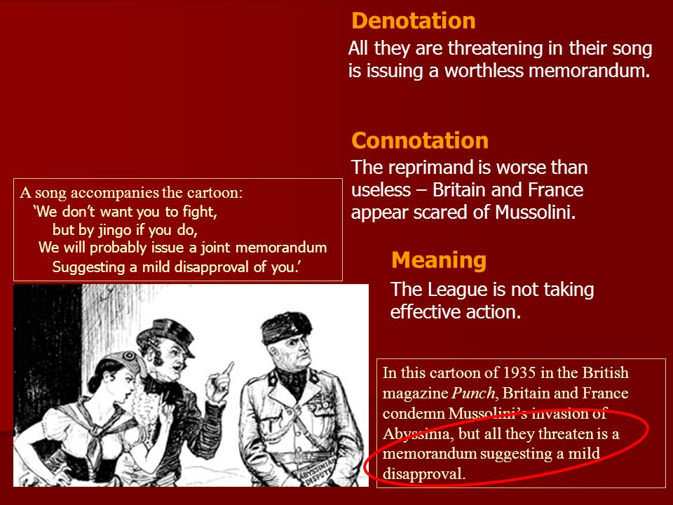 Denotation Connotation Meaning