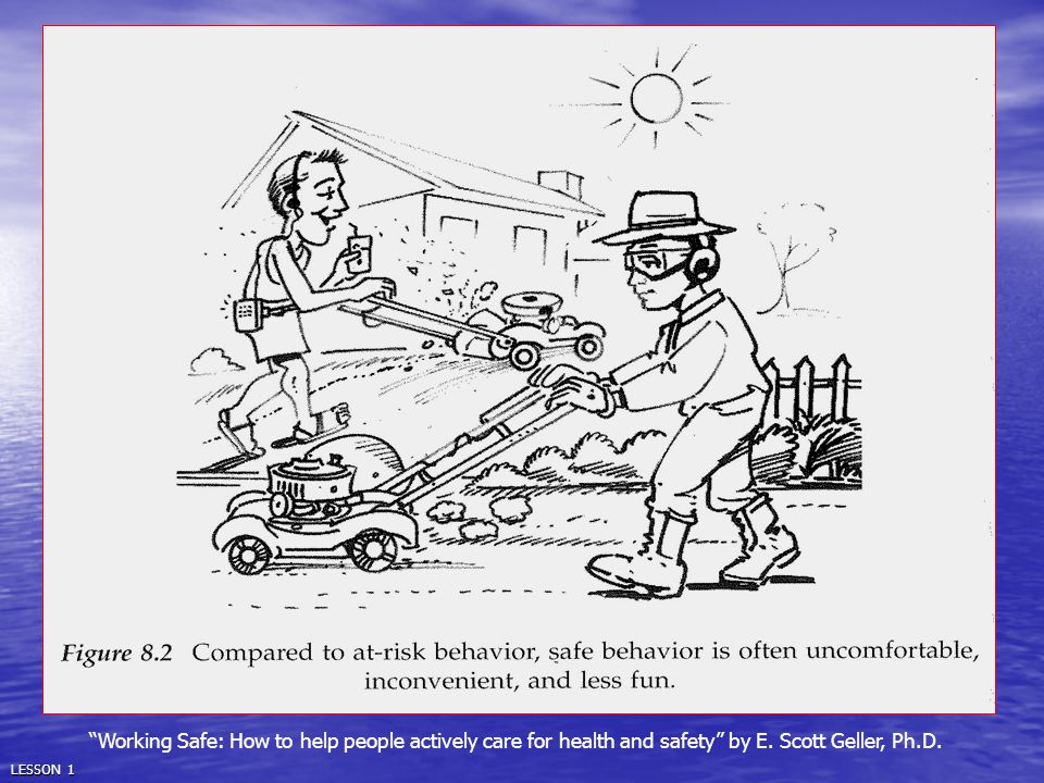 Working Safe: How to help people actively care for health and safety by E. Scott Geller, Ph.D.