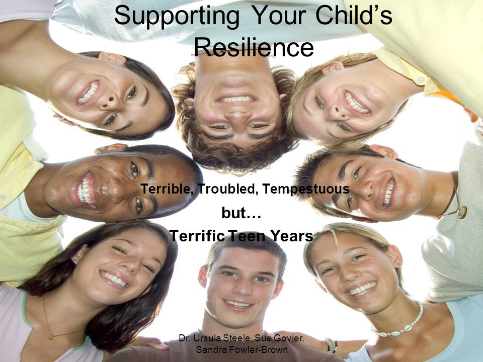 Supporting Your Child's Resilience