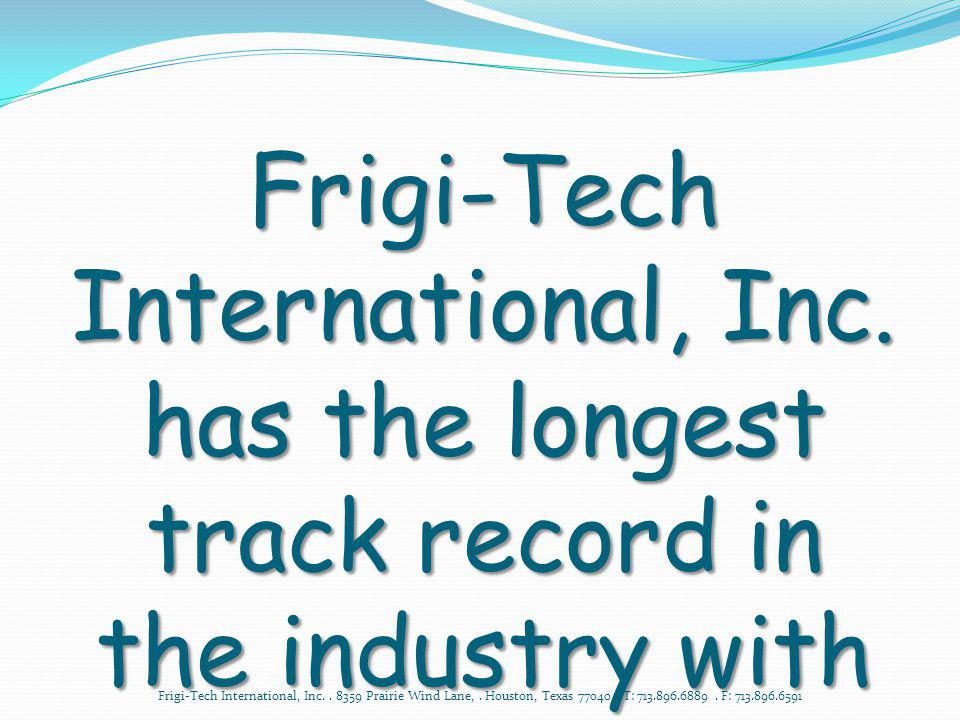 Frigi-Tech International, Inc