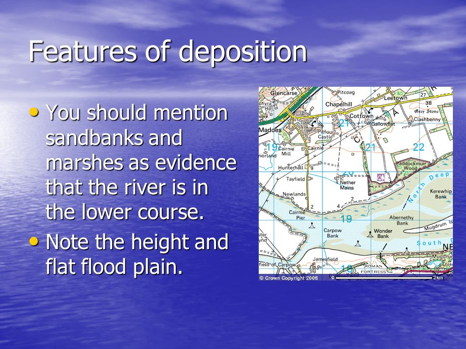 Features of deposition