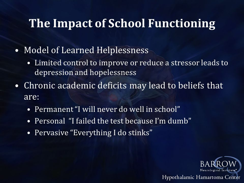 The Impact of School Functioning