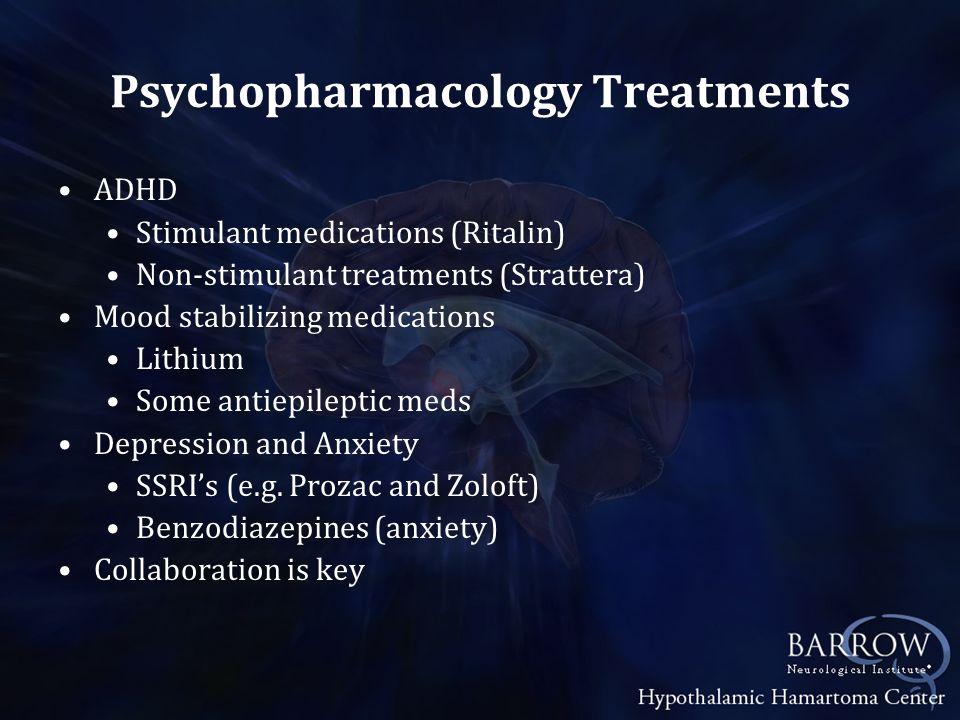 Psychopharmacology Treatments