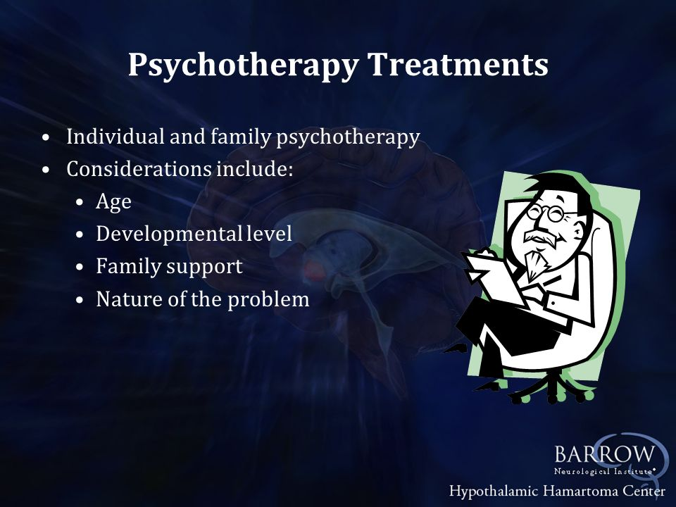 Psychotherapy Treatments