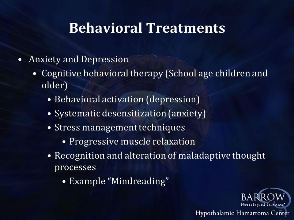 Behavioral Treatments