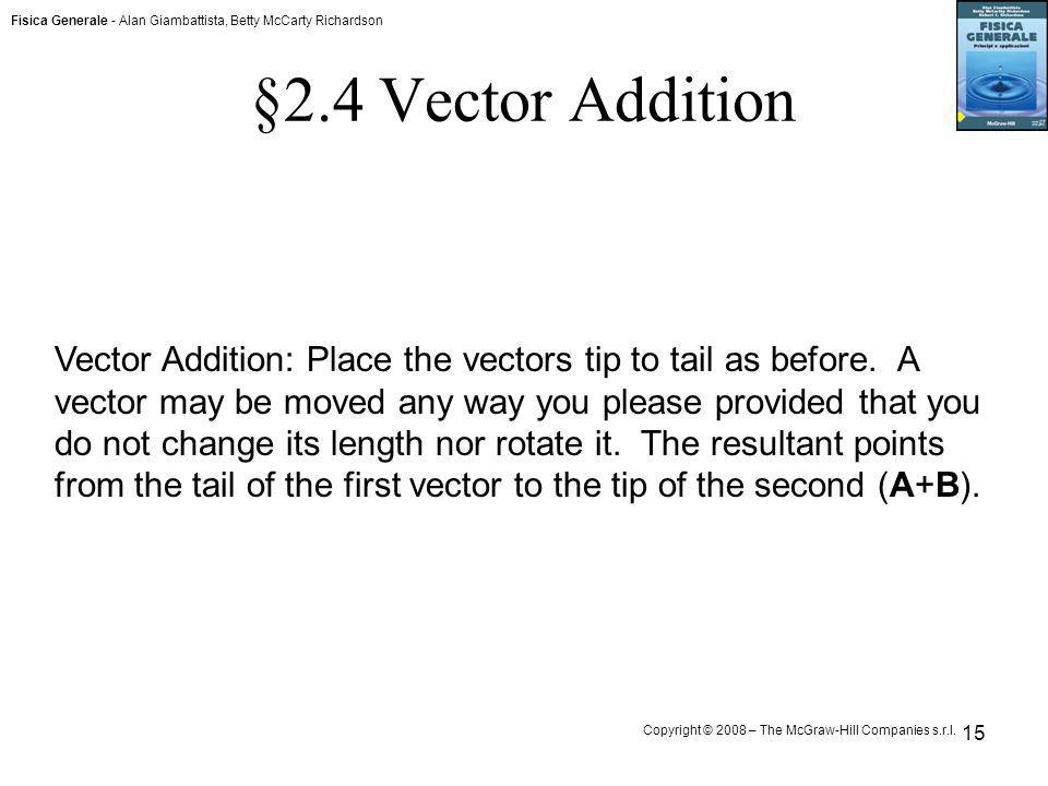 §2.4 Vector Addition