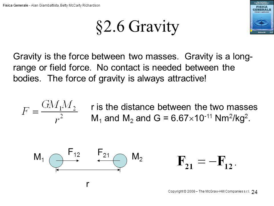 §2.6 Gravity