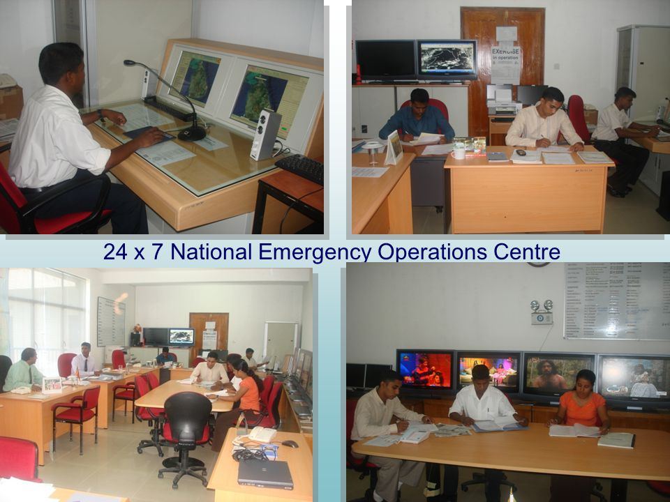 24 x 7 National Emergency Operations Centre