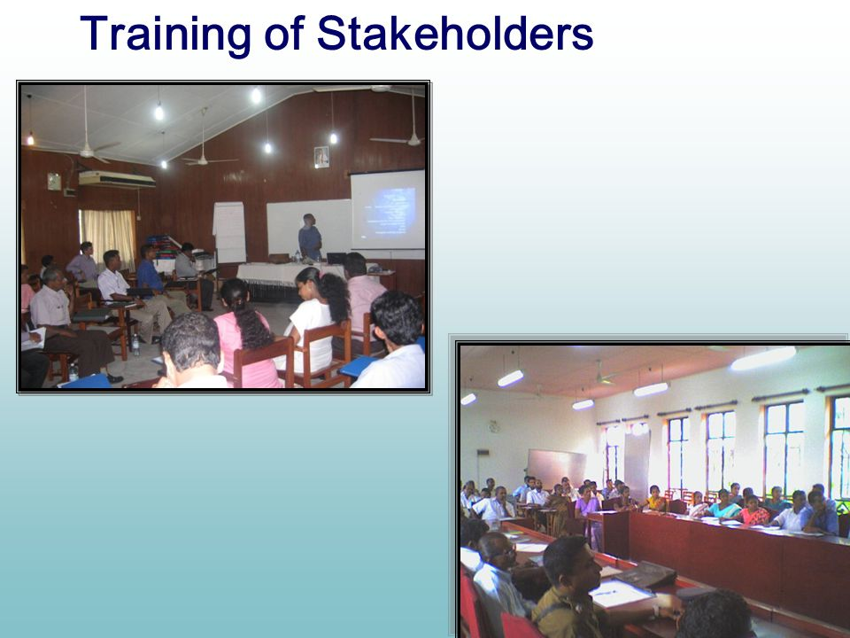 Training of Stakeholders