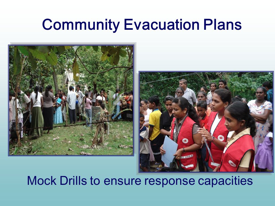 Community Evacuation Plans