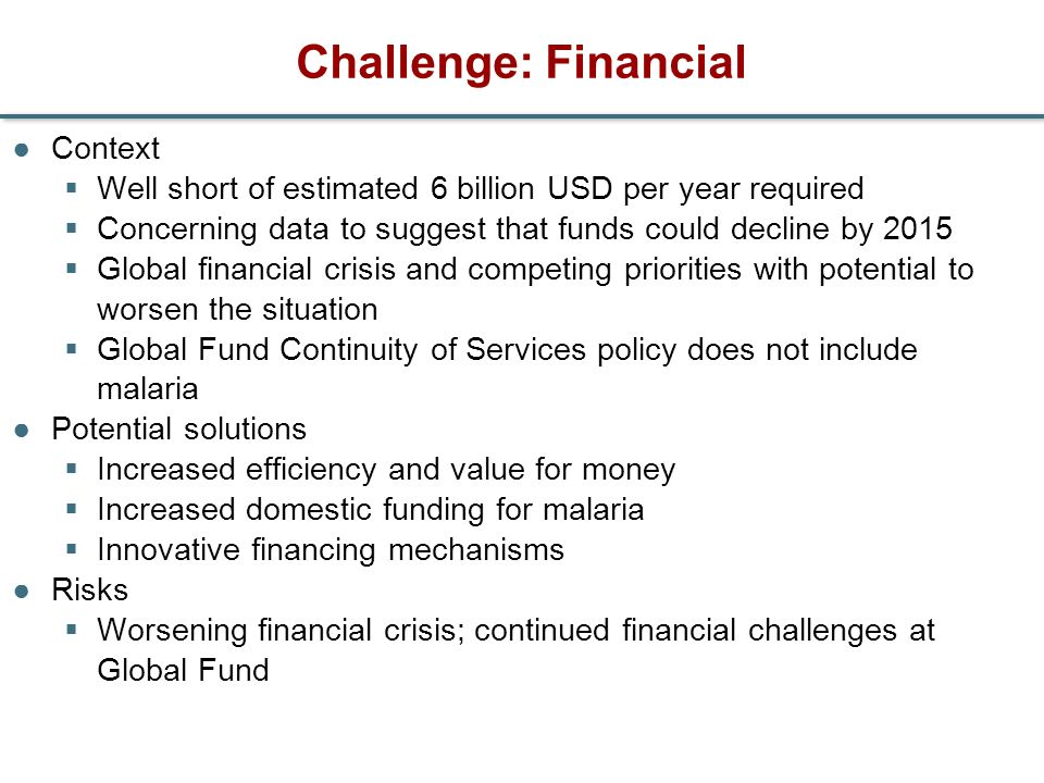 Challenge: Financial Context