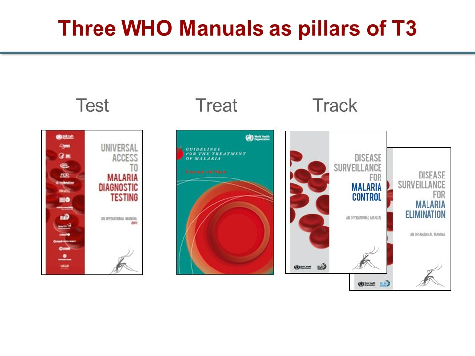 Three WHO Manuals as pillars of T3