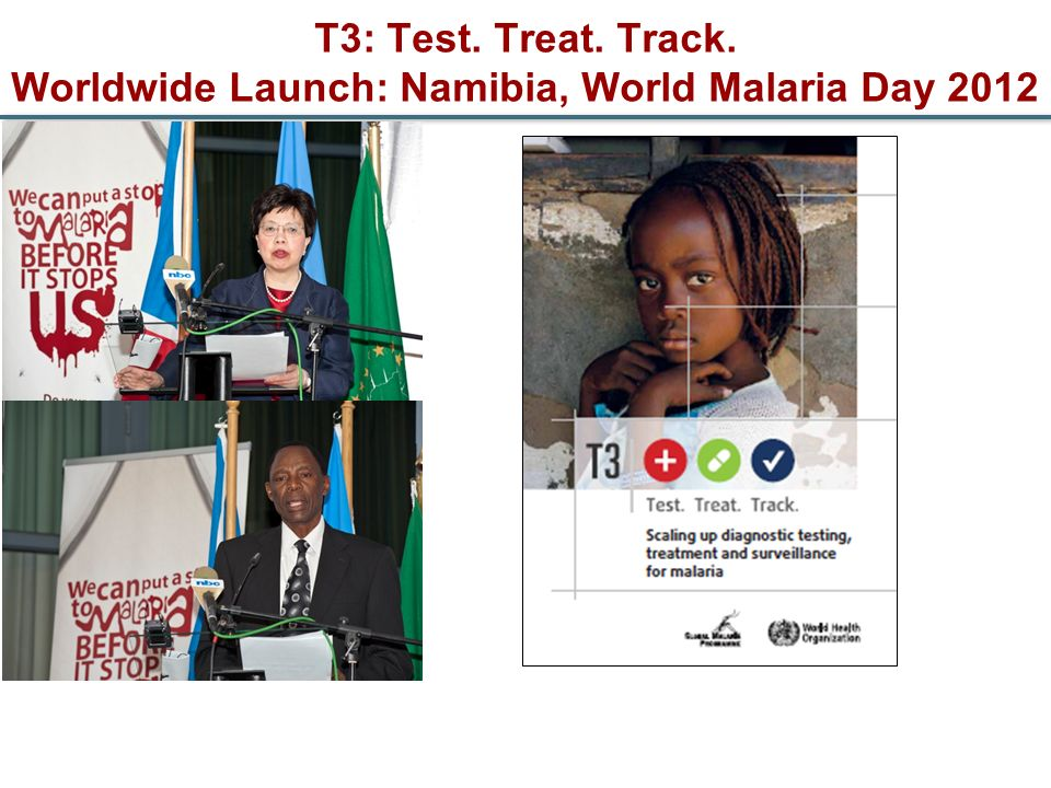 T3: Test. Treat. Track. Worldwide Launch: Namibia, World Malaria Day 2012