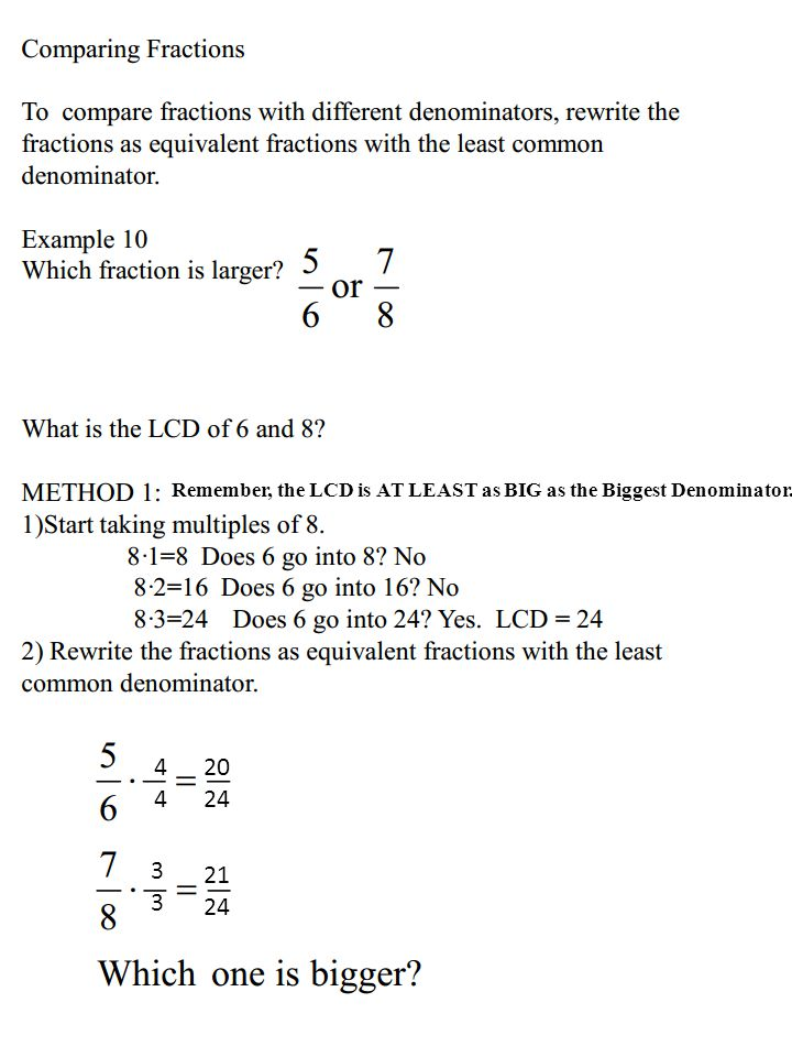 BUILDING UP FRACTIONS Recall that the GCF was used to REDUCE ...
