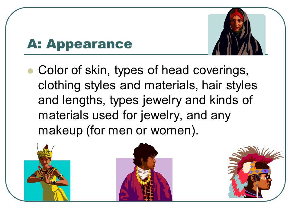 A: Appearance