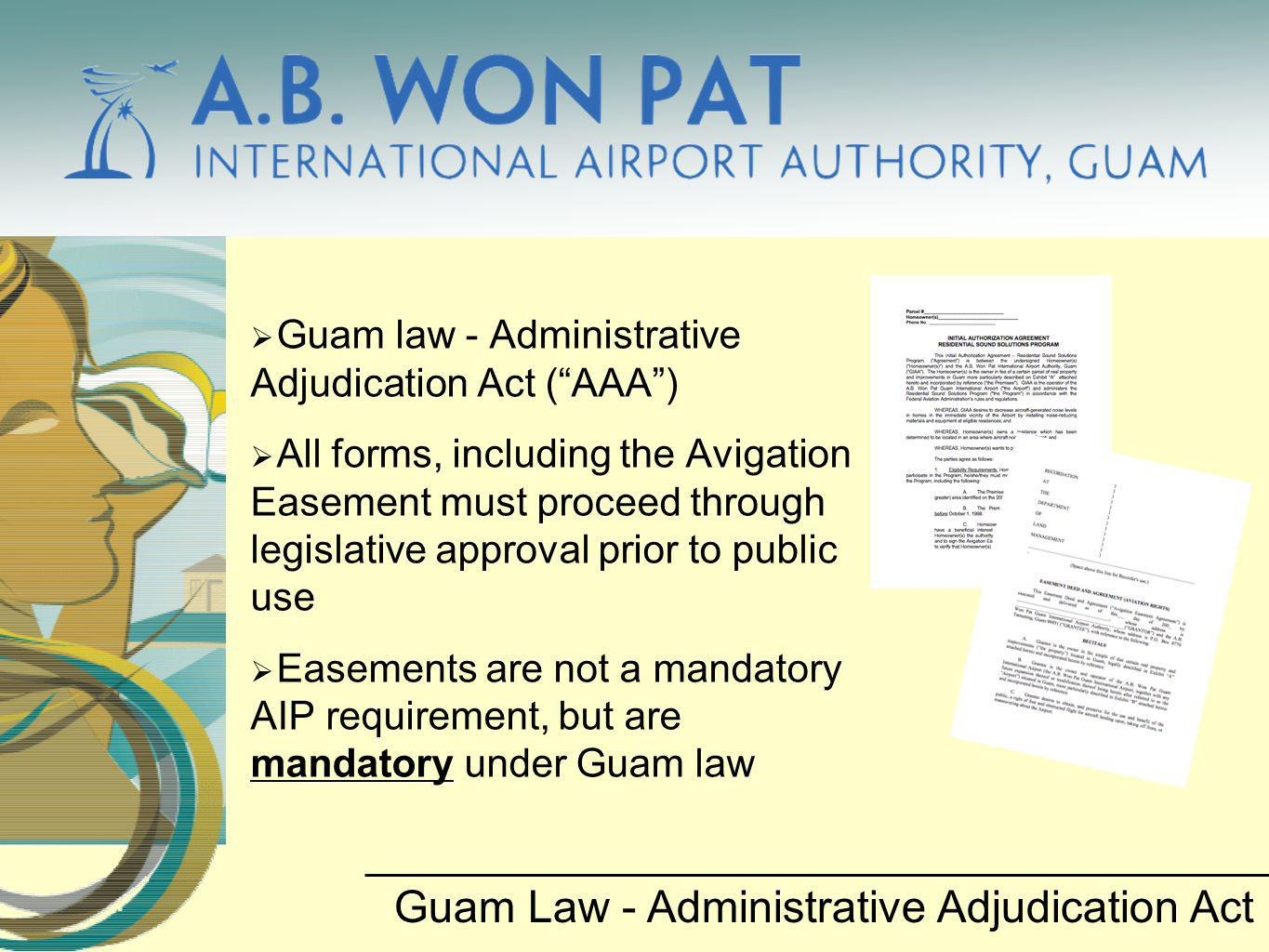 Guam Law - Administrative Adjudication Act