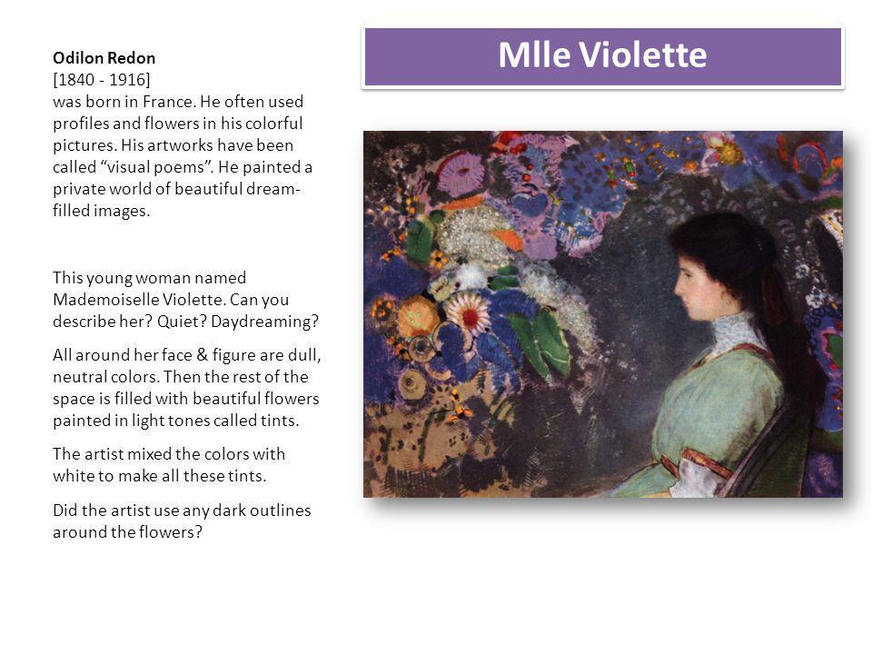 Mlle Violette