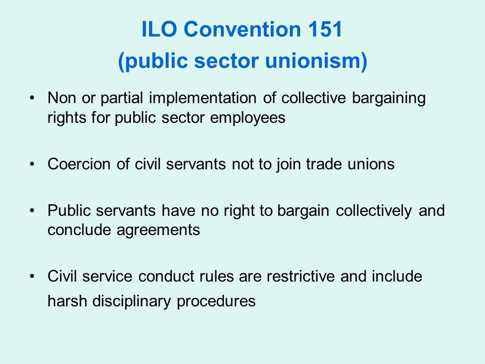 ILO Convention 151 (public sector unionism)