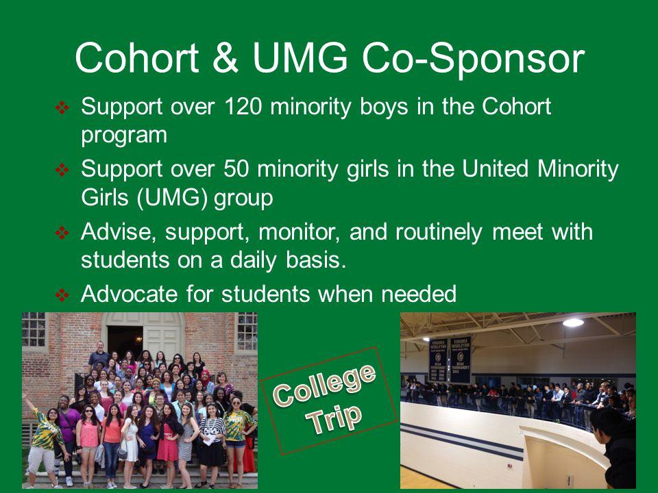 Cohort & UMG Co-Sponsor
