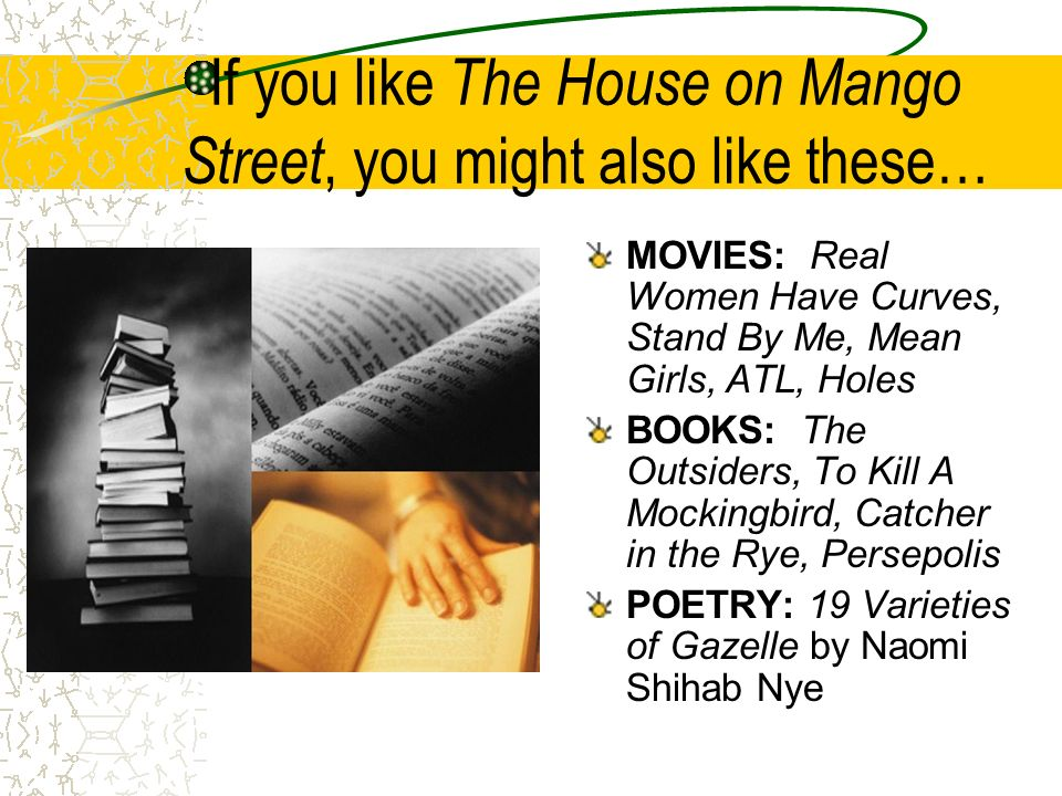 If you like The House on Mango Street, you might also like these…