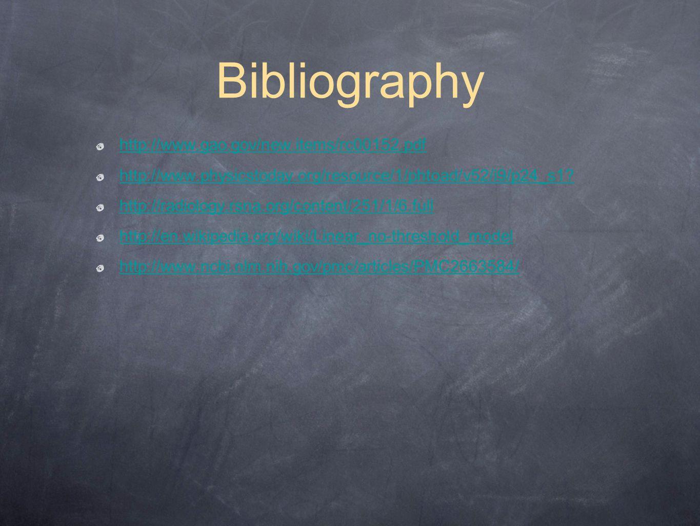 Bibliography http://www.gao.gov/new.items/rc00152.pdf
