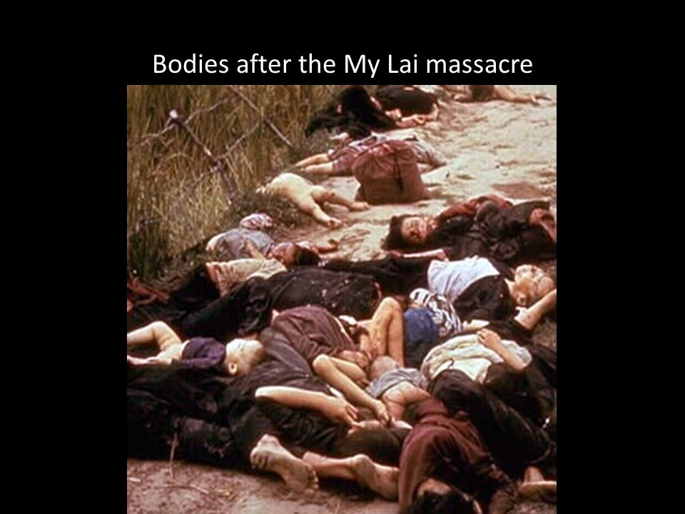 Bodies after the My Lai massacre