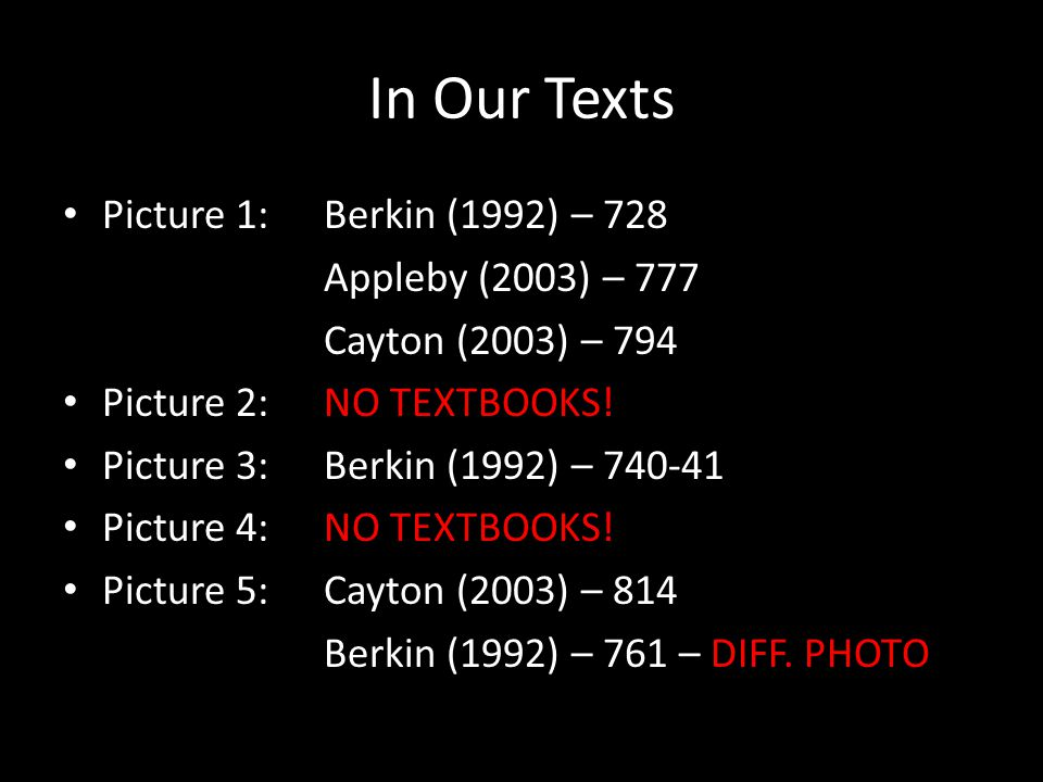 In Our Texts Picture 1: Berkin (1992) – 728 Appleby (2003) – 777