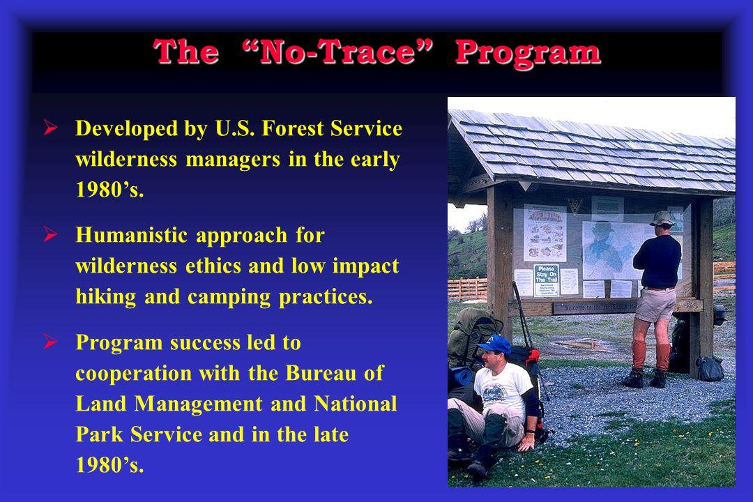 The No-Trace Program