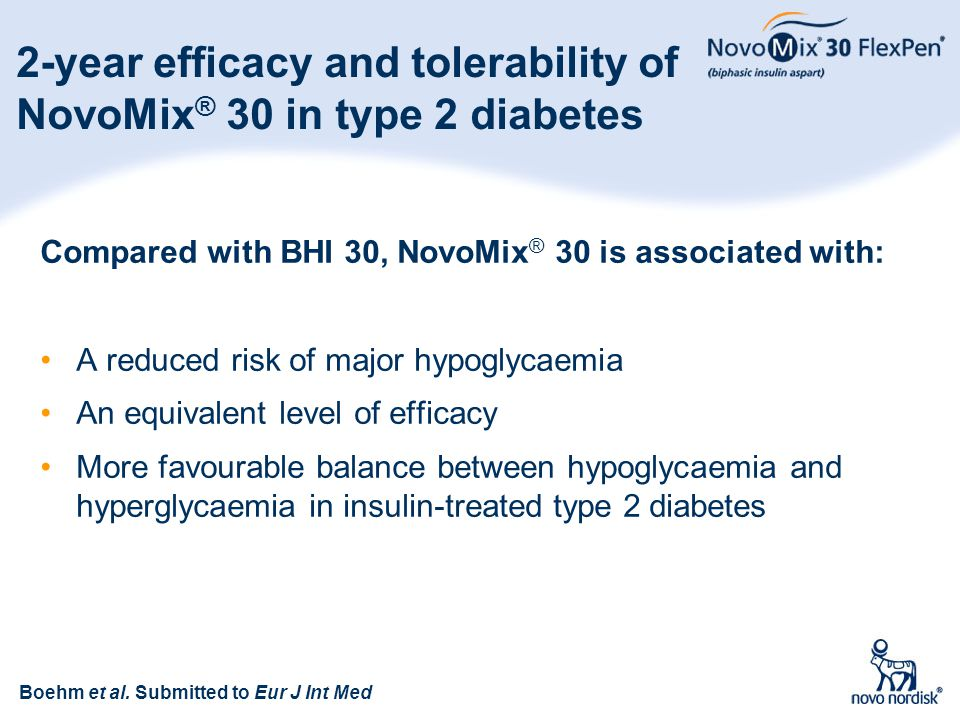 2-year efficacy and tolerability of NovoMix® 30 in type 2 diabetes