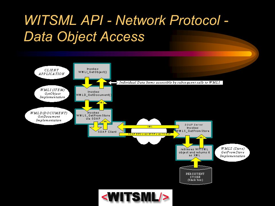 WITSML API - Network Protocol - Data Object Access
