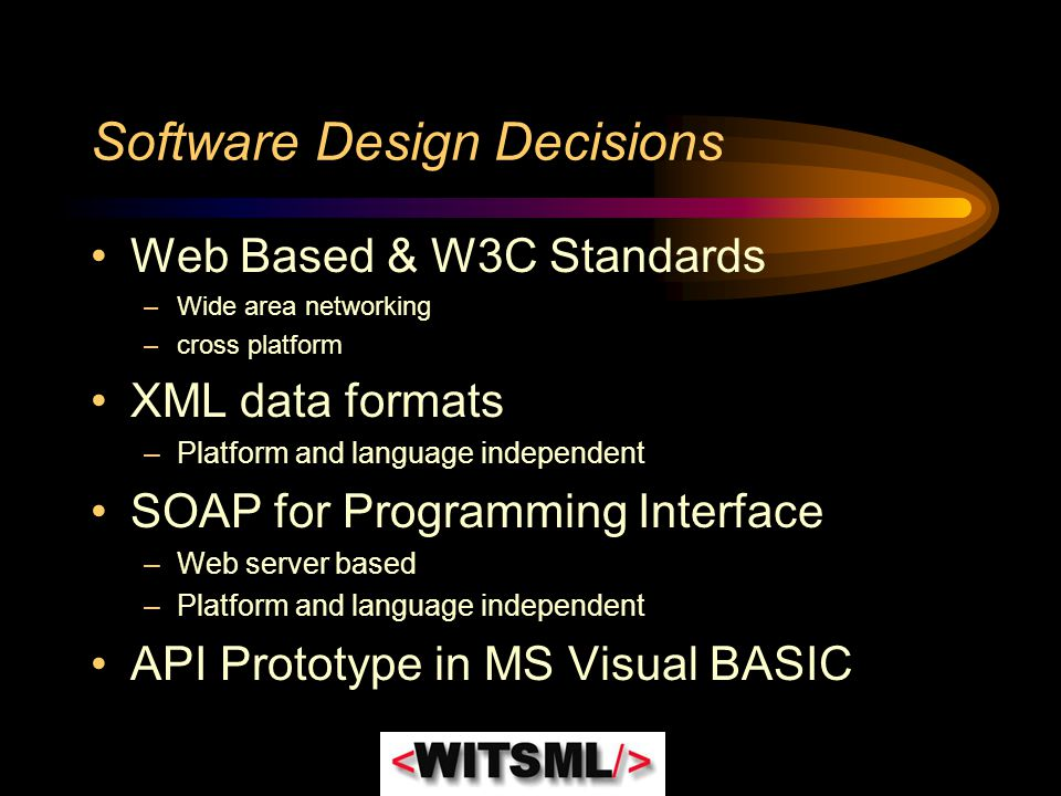 Software Design Decisions