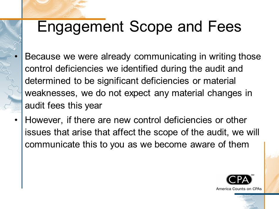 Engagement Scope and Fees