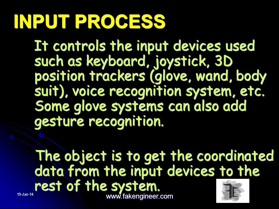 INPUT PROCESS