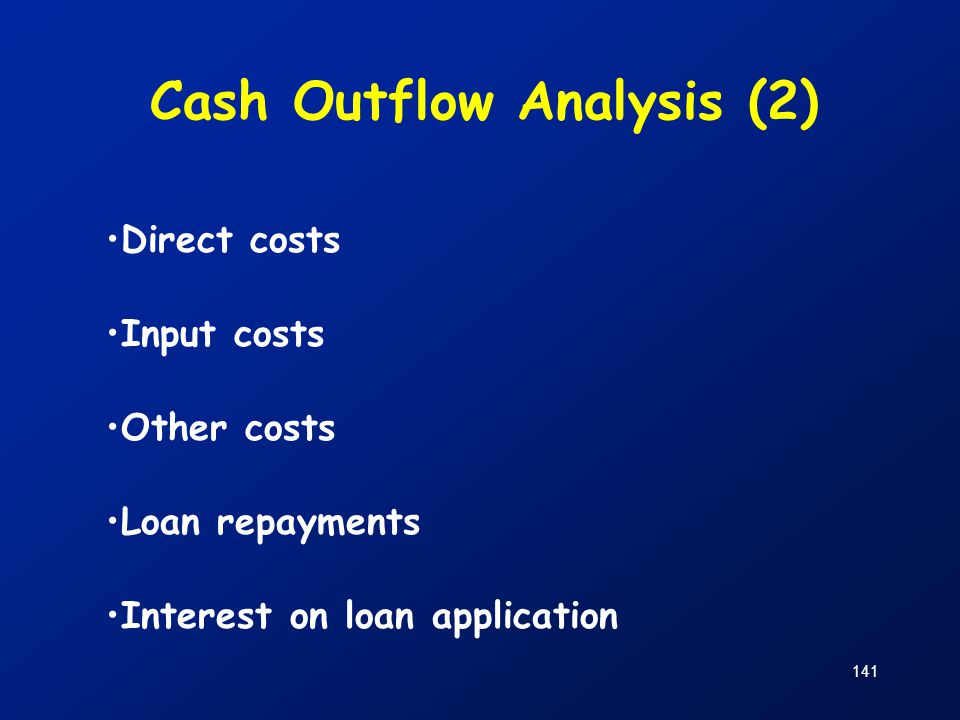 Cash Outflow Analysis (2)
