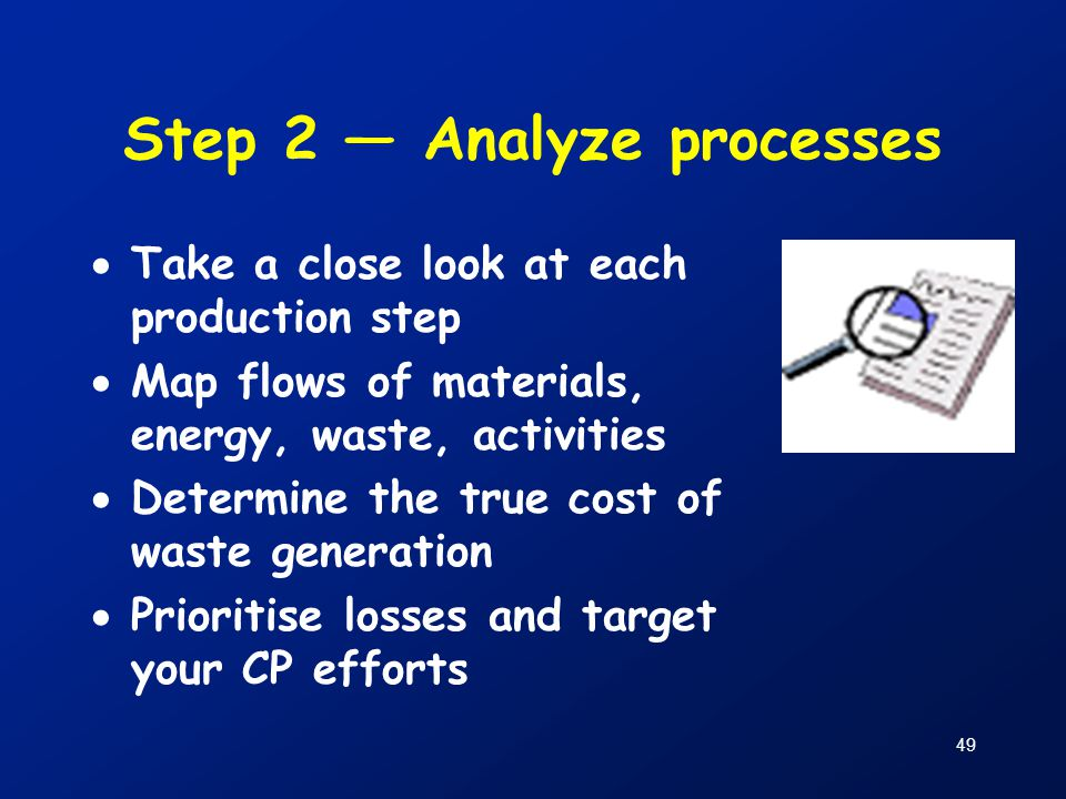 Step 2 — Analyze processes
