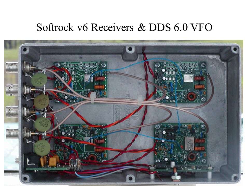 Softrock v6 Receivers & DDS 6.0 VFO