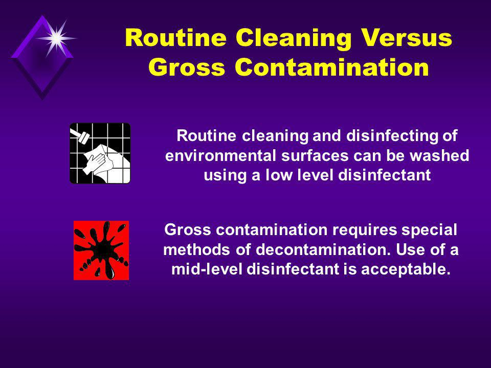 Routine Cleaning Versus