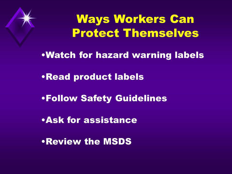 Ways Workers Can Protect Themselves