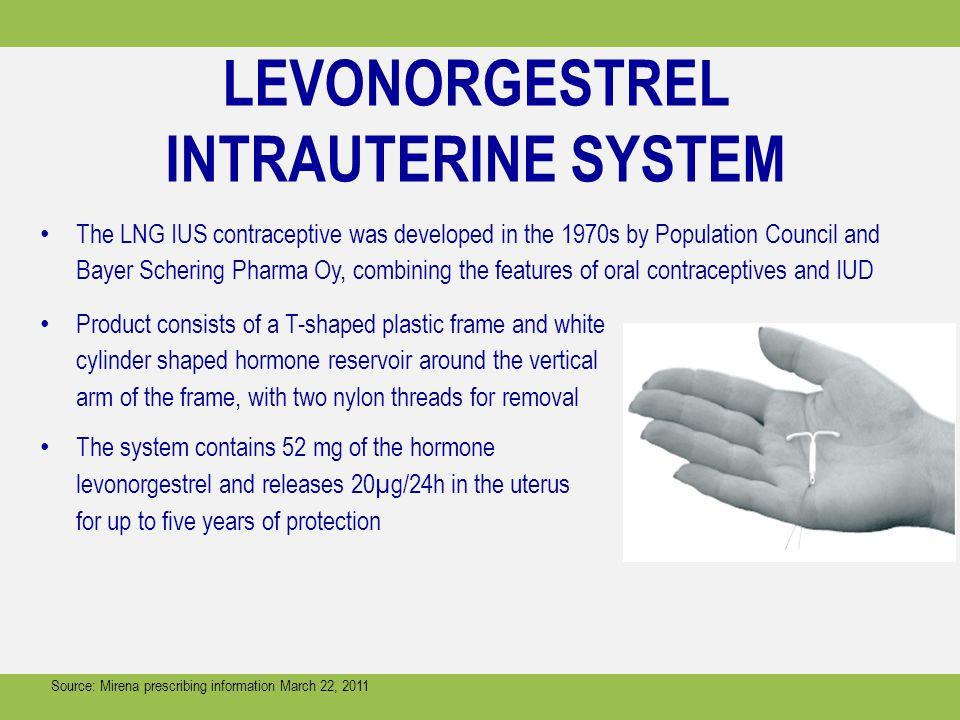LEVONORGESTREL INTRAUTERINE SYSTEM
