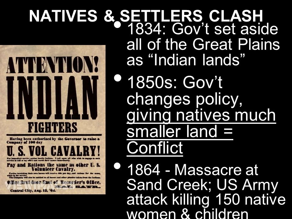 NATIVES & SETTLERS CLASH