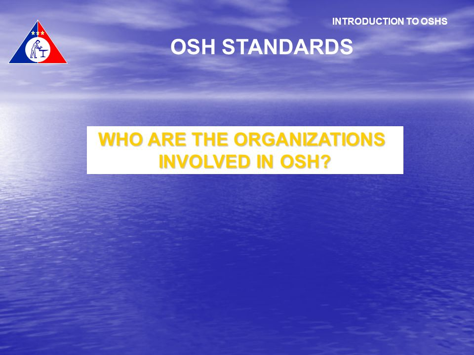 WHO ARE THE ORGANIZATIONS