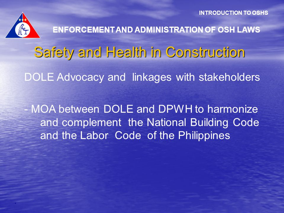 Occupational Safety And Health Administration Building Occupational Safety an...