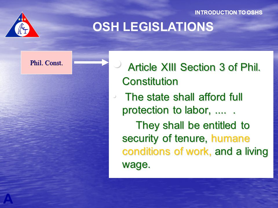 Article XIII Section 3 of Phil. Constitution