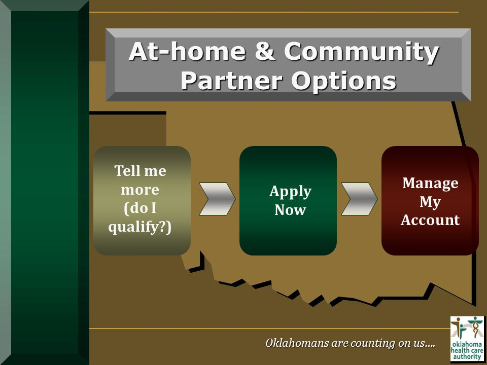 At-home & Community Partner Options
