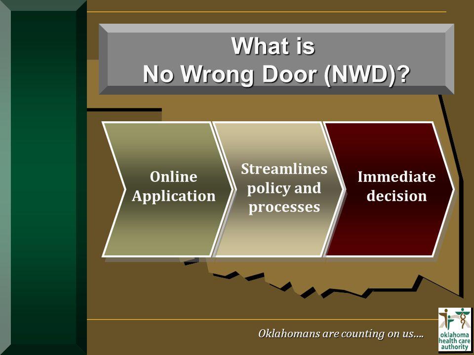What is No Wrong Door (NWD)